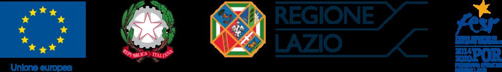 Lazio regione Unione Europea logo